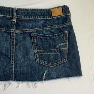 Denim Mini Skirt from American Eagle Size 14